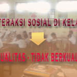 interaksi sosial di kelas