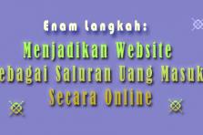 Bagaimana Menjadikan Website Sebagai Saluran Uang Masuk Secara Online?